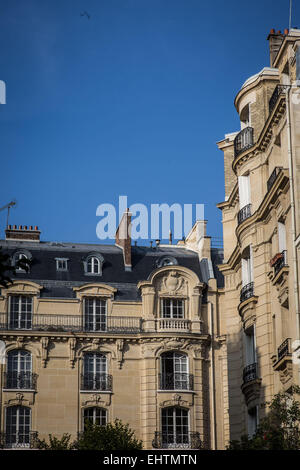 ILLUSTRATION OF NEUILLY-SUR-SEINE, HAUTS-DE-SEINE (92), FRANCE - Stock Photo