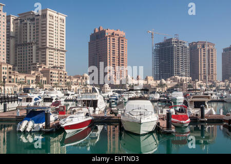 ILLUSTRATION OF QATAR, PERSIAN GULF, MIDDLE EAST - Stock Photo