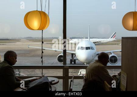 AEROPORT D'ORLY, (94) VAL-DE-MARNE, FRANCE - Stock Photo