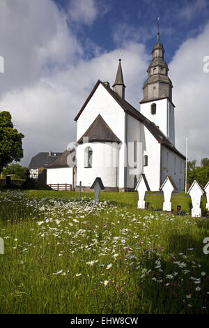 Church in Wormbach in Schmallenberg, Germany. - Stock Photo