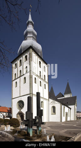 St. Mary's Church in Lippstadt in Germany. - Stock Photo