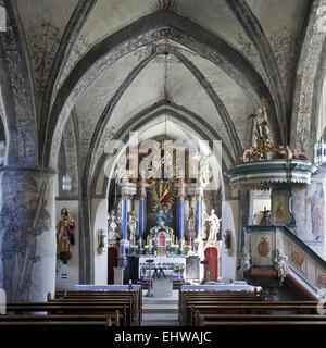 The St. Heribert Church in Hallenberg. - Stock Photo