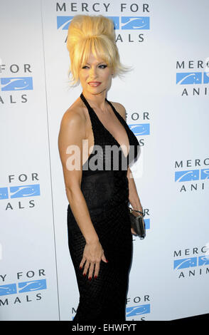 Mercy For Animals 15th Anniversary Gala Featuring: Pamela Anderson Where: Los Angeles, California, United States - Stock Photo