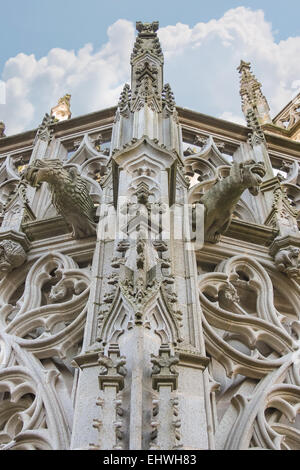 Cathedral in the Dutch city of Den Bosch. Netherlands - Stock Photo