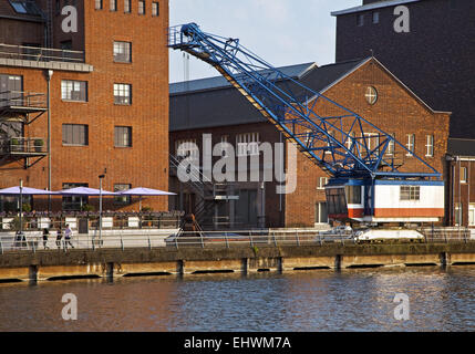 duisburg inner habour germany stock photo royalty free image 79855501 alamy. Black Bedroom Furniture Sets. Home Design Ideas