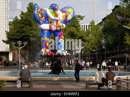 Artwork Lifesaver, Duisburg, Germany.