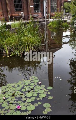 North Duisburg Landscape Park, Germany. - Stock Photo