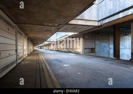 Alexandra and Ainsworth Estate underground car park - Stock Photo