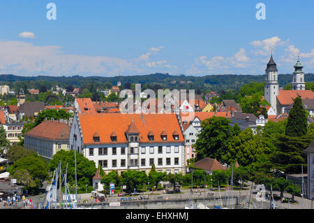 Lindau, Germany, Bavaria, Allgau, Lake constance, - Stock Photo