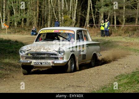 Lotus Cortina - Stock Photo
