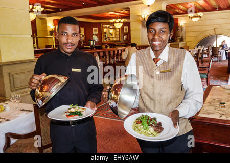 South Africa, African, Johannesburg, Sandton, Nelson Mandela Square, Piccolo Mondo, restaurant restaurants food - Stock Photo