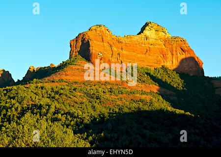The Rock of Grasshopper Point, Sedona, Arizona, USA - Stock Photo