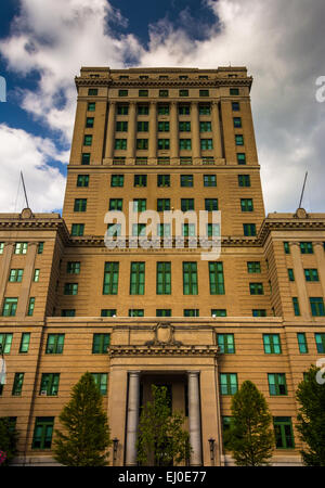 The Buncombe County Courthouse in Asheville, North Carolina. - Stock Photo