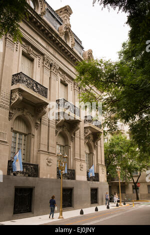 Argentina, Buenos Aires, Retiro, Palacio San Martin, Ministry of Foreign Affairs and religion building - Stock Photo