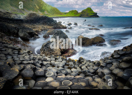Giants Causeway. Ireland - Stock Photo