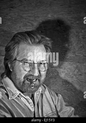 LOS ANGELES, CA – FEBRUARY 15: American director and screenwriter Tobe Hooper in Los Angeles, California on March - Stock Photo