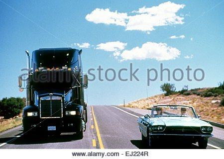 """a commentary to the film thelma and louise directed by ridley scott in 1991 """"thelma & louise"""" was directed by ridley scott, from britain, whose previous credits (""""blade runner,"""" """"black rain,"""" """"legend"""") show complete technical mastery but are sometimes not very interested in psychological questions."""