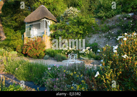The Moult Salcombe Devon UK Owner R Seal Summer garden by the sea ...