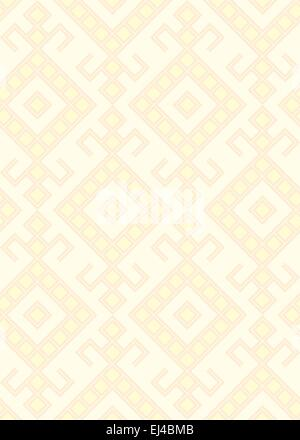Simple seamless traditional slavic pattern - Stock Photo
