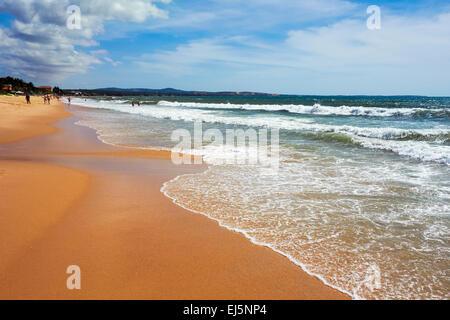 Beach near Mui Ne, Binh Thuan Province, Vietnam. - Stock Photo