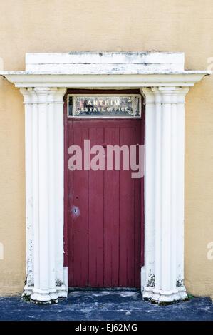 Antrim Estate Office, at Glenarm Castle, Northern Ireland - Stock Photo
