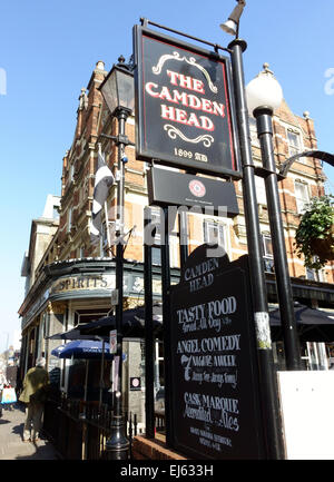The Camden Head public house, Islington, London - Stock Photo