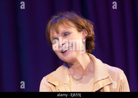 Madeline Smith English actress, James Bond girl 'Miss Caruso' in 'Live and Let Die', at a recording of 'The David - Stock Photo