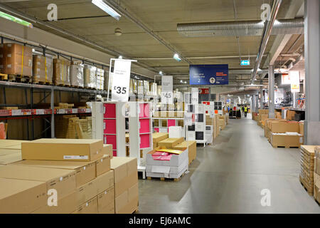 Inside ikea store interior shopping warehouse area retail - Ikea shop online france ...