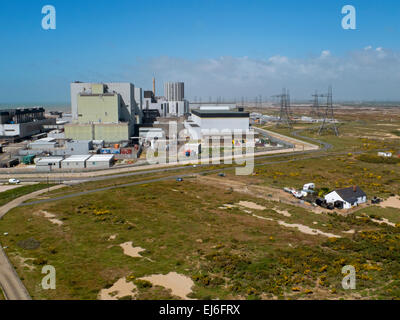 Dungess Nuclear Power station in Kent, England, UK - Stock Photo