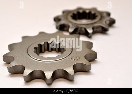 gears for mopeds - Stock Photo