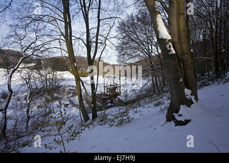 Landscape colliery Egbert, Witten, Germany - Stock Photo
