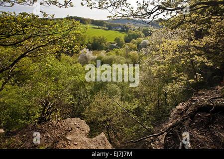 Mutten Valley, Witten, Germany - Stock Photo