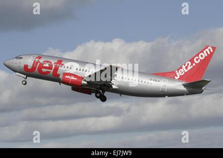 Jet2 Airways Boeing 737 - Stock Photo