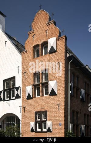 Detail House, Moers, Germany - Stock Photo
