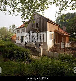 Au mill, Moers, Germany - Stock Photo