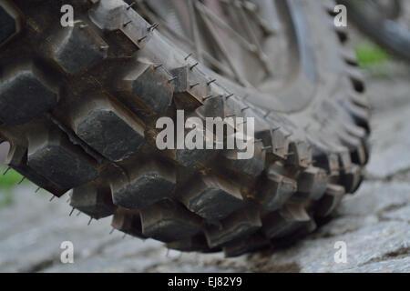 Motocross Tread - Stock Photo