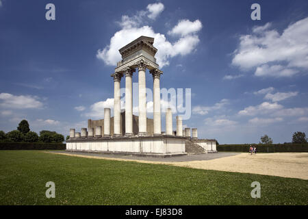 Archaeological Park Xanten APX, Germany - Stock Photo