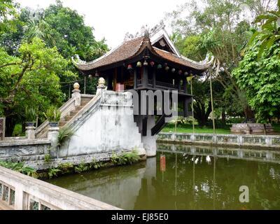 Chua Mot Cot Pagoda - Stock Photo