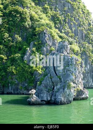 View Of Famous Halong Bay - Stock Photo