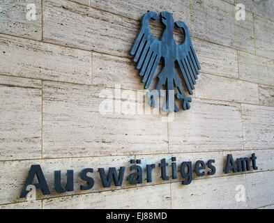 german ministry of foreign affairs - Stock Photo