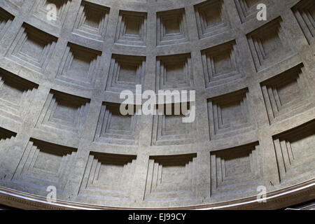 Italy. Rome. Pantheon. Roman temple. - Stock Photo