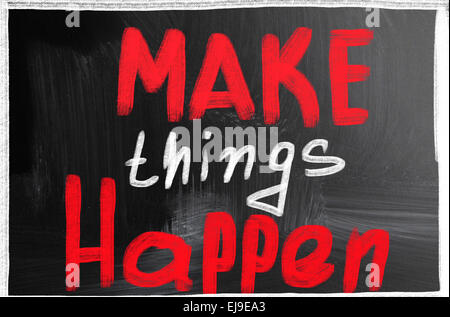 make things happen - Stock Photo
