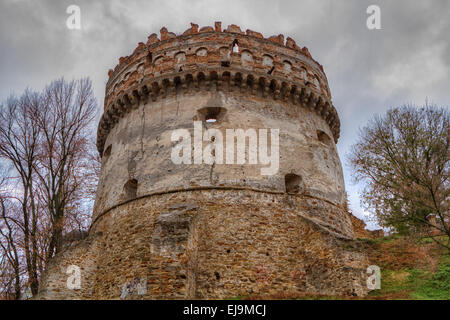 The old-time castle XVI ages - Stock Photo