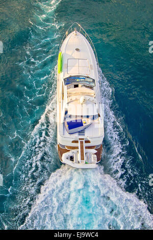 Aerial View Of A Sailboat And Cruise Ship Disney Magic
