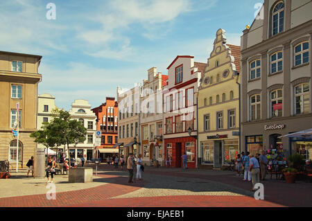 Hanseatic City Wismar Germany - Stock Photo