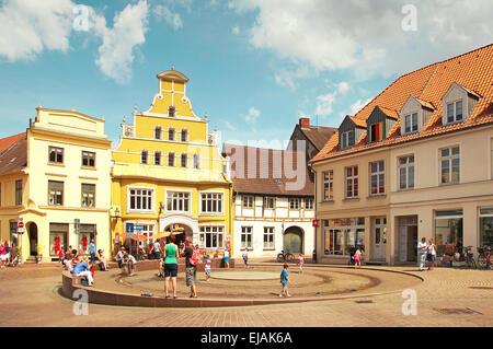 Hanseatic City Wismar Germany - Stock Photo