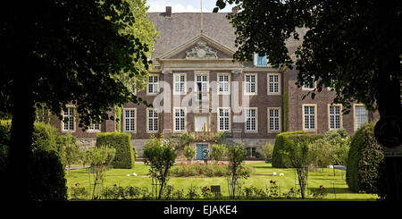 Steinfurt castle, Drensteinfurt, Germany - Stock Photo