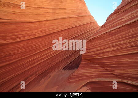 Coyote Buttes North The Wave - Stock Photo