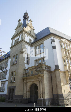 Gymnasium Petrinum in Recklinghausen, Germany - Stock Photo