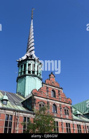 Stockexchange tower - Stock Photo